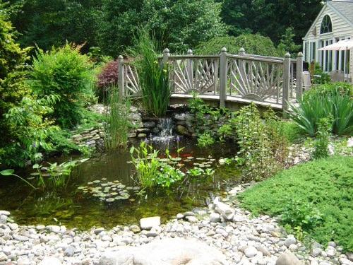 pond-waterfall-bridge