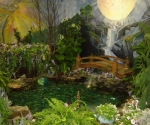 indoor-flower-show-pond